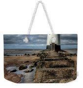 Welsh Lighthouse  Weekender Tote Bag by Adrian Evans