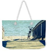 Went For A Swim Weekender Tote Bag