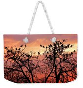 Wente Road Sunset Weekender Tote Bag