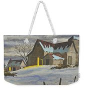 We're Home On The Farm Weekender Tote Bag