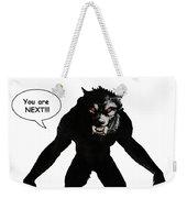 Werewolf Comic Illustration 1 Weekender Tote Bag