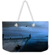 West Across The Ocean Weekender Tote Bag