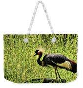 West African Crowned Crane Weekender Tote Bag