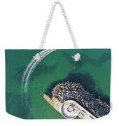 West Bay Pier Head Weekender Tote Bag