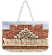 West Bottoms Fire Station Terracotta Dwc Weekender Tote Bag