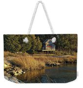 West Falmouth Boathouse Weekender Tote Bag