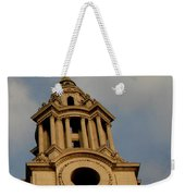 West Front Of St. Paul's Cathedral, London Weekender Tote Bag