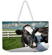 West Michigan Dairy Cow Weekender Tote Bag