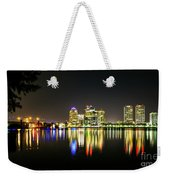West Palm Beach Downtown Panoramic Weekender Tote Bag