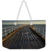 West Pier, Whitby, England Weekender Tote Bag