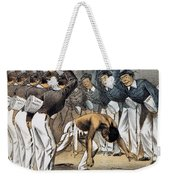 West Point Cartoon, 1880 Weekender Tote Bag by Granger