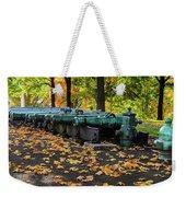 West Point Fall Leaves Weekender Tote Bag