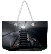 West Quoddy Head Lighthouse History And Facts Weekender Tote Bag