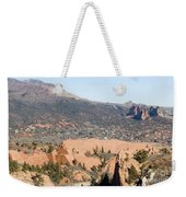 West Springs And Distant Garden Of The Gods Weekender Tote Bag