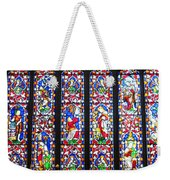 West Stained Glass Window Christ Church Cathedral 1 Weekender Tote Bag