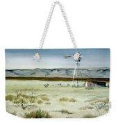 West Texas Windmill Weekender Tote Bag