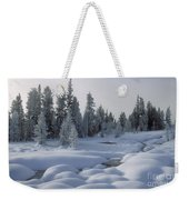 West Thumb Snow Pillows Weekender Tote Bag