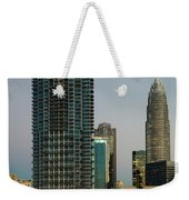 West Trade Street Downtown Charlotte North Carolina Weekender Tote Bag