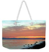 West Vancouver Sunset Weekender Tote Bag