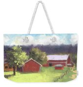 West View Of The Meyer Ranch Weekender Tote Bag