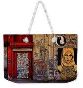 West Village Wall Nyc Weekender Tote Bag by Chris Lord