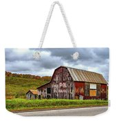 West Virginia Barn Weekender Tote Bag