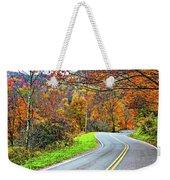 West Virginia Curves Weekender Tote Bag