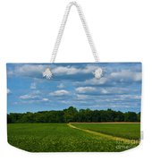 West Virginia Field  Weekender Tote Bag