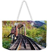 West Virginia Trestle Weekender Tote Bag