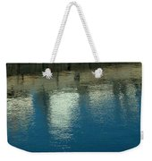 West Wharf Reflections I Weekender Tote Bag