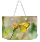Wester Sulfur Butterfly Weekender Tote Bag
