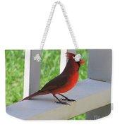 Western Cardinal Weekender Tote Bag