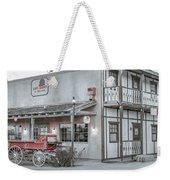 Western Carriage Stop Weekender Tote Bag
