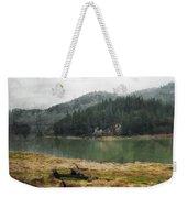 Western Cascades River Weekender Tote Bag