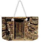 Western Door Weekender Tote Bag