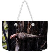 Western Fence Lizard Weekender Tote Bag