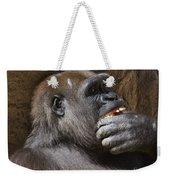 Western Gorilla, Gladys Porter Zoo, Brownsville, Texas Weekender Tote Bag