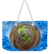 Western Hemisphere On A Seashell Weekender Tote Bag