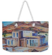 Western Home Illustration Weekender Tote Bag