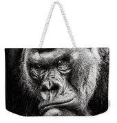 Western Lowland Gorilla Bw II Weekender Tote Bag