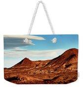Western Mountain Scene Weekender Tote Bag