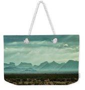 Western Mountains Weekender Tote Bag