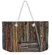Western Outhouse Weekender Tote Bag
