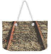 Western Railway Of Routes Forgotten Weekender Tote Bag
