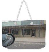 Western Storefront Weekender Tote Bag