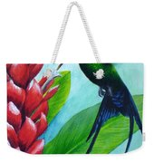 Western Streamertail Hummingbird Weekender Tote Bag