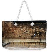 Empty Western Wall Weekender Tote Bag