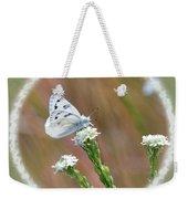 Western White Butterfly Weekender Tote Bag