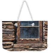 Western Window Weekender Tote Bag