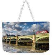 Westminster Bridge Weekender Tote Bag